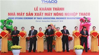 THACO inaugurates the US$22-million agricultural machinery factory