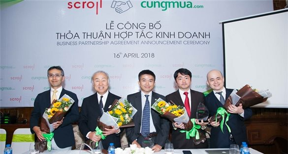 Japanese corporation invests in Vietnamese Cungmua e-commerce system
