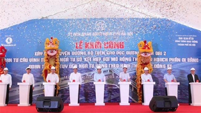 Vingroup kicks off $418 million flyover project to ease traffic bottlenecks in Hanoi