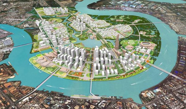 JLL believes that it is time to invest in Thu Thiem
