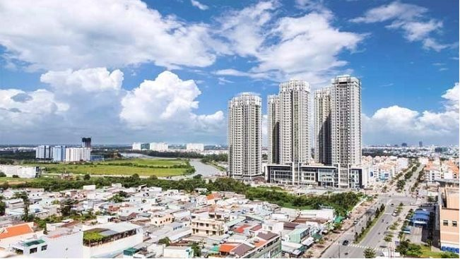 Condominium market in Ho Chi Minh City recorded sustainable growth as the east and south are forecasted to be hotspots