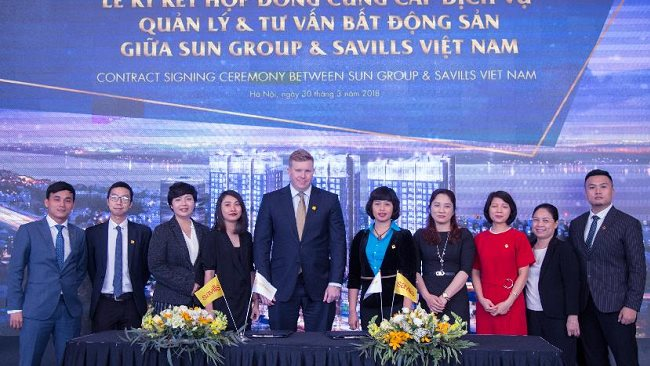 Savills officially opted as manager of Sun Grand City Ancora Residence