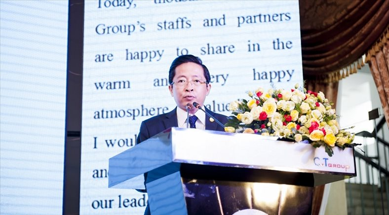 President of real estate C.T Group elected as the highest Officer of bank