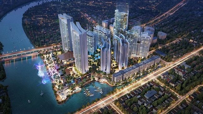 The tallest five-star hotel Kenton Node Hotel Complex in Ho Chi Minh City has a Swiss world-known operator