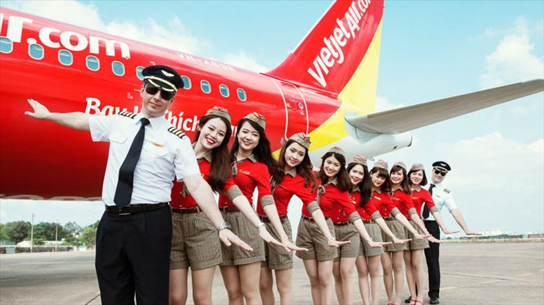 Vietjet's market cap surpasses $4.5 billion