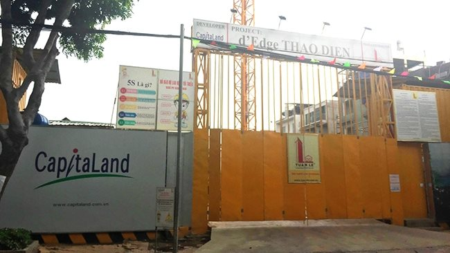 D'Edge Thao Dien project halted due to claim of unreasonable compensation