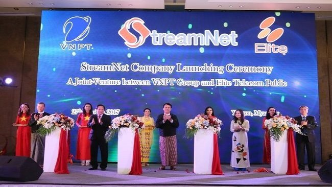 Vietnam Posts and Telecommunications Group invests abroad to set up a JV in Myanmar