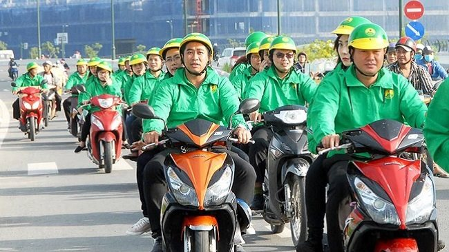 Mai Linh Group heats up the hi-tech motorbike taxi game to compete Uber, Grab