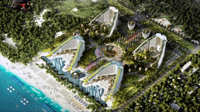 The largest condotel complex project Arena launches 4,500 hotel apartments along Cam Ranh peninsula