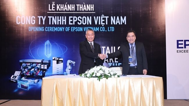 The Japanese technology giant officially opens up its subsidiary in Vietnam