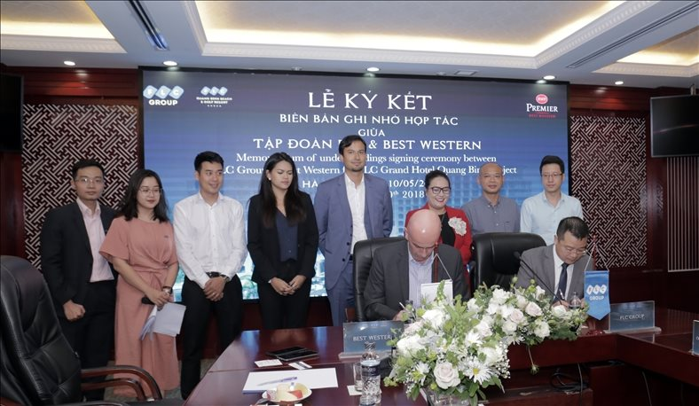 FLC cooperates with the US's leading brand owner to run it hotel project in Central Vietnam