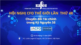 CFO World Congress first to be held in Vietnam
