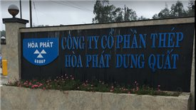 Hoa Phat Group invested nearly $1 billion in Dung Quat steel production project