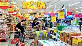 Which brands dominate Vietnam's supermarket segment
