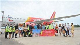 Thai Vietjet commences 10th domestic route in Thailand