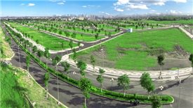 Land lot prices hike in adjacent provinces of Hanoi
