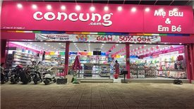Administrative sanction imposed to retail store chain Con Cung
