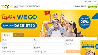 Vietnamese online travel app raised Swiss investor's funding in its $45 million market capitalization