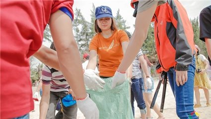 URC Vietnam raises environment protection awareness