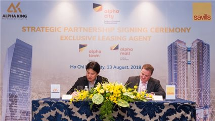 Alpha King appointed Savills Vietnam as its properties' exclusive leasing agency