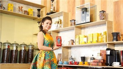 Trung Nguyen International opened its first King Coffee-branded coffee shop, targeting a 1,000 chain