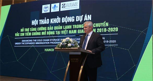Zuellig Pharma funds expanding vaccine access in Vietnam