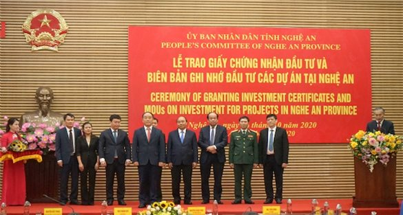 Nghe An greenlights two FDI projects