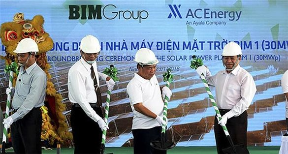 BIM Group will soon operate Southeast Asia's largest solar power plant