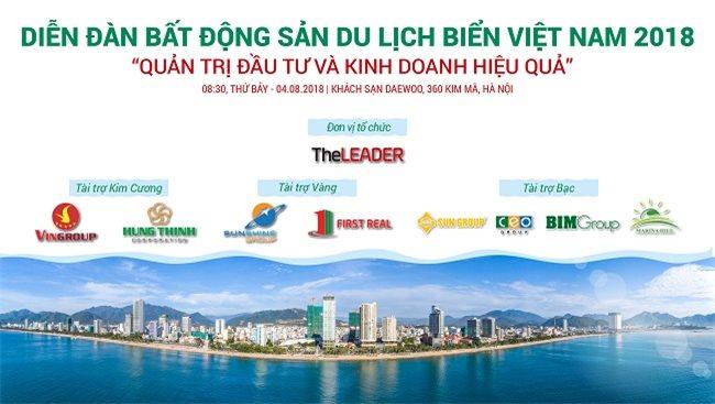 TheLEADER organizes 'Vietnam Seaside Tourism Real Estate Forum 2018'