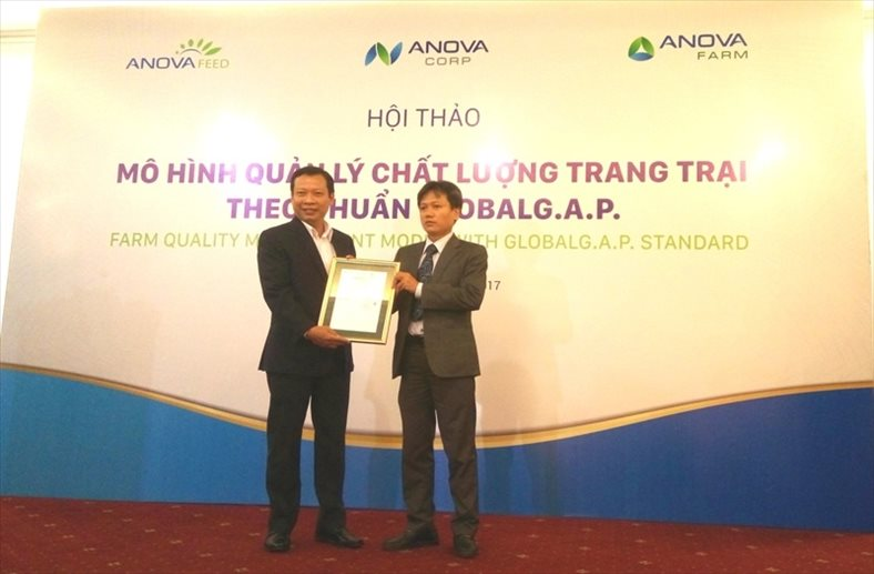 First Vietnamese pig farm reaching Global GAP Standard
