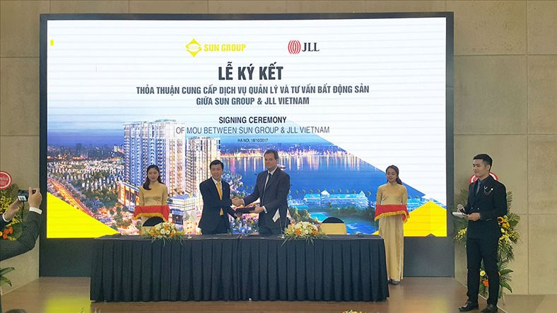 JLL selected to operate the five-star Sun Grand City Thuy Khue Residence