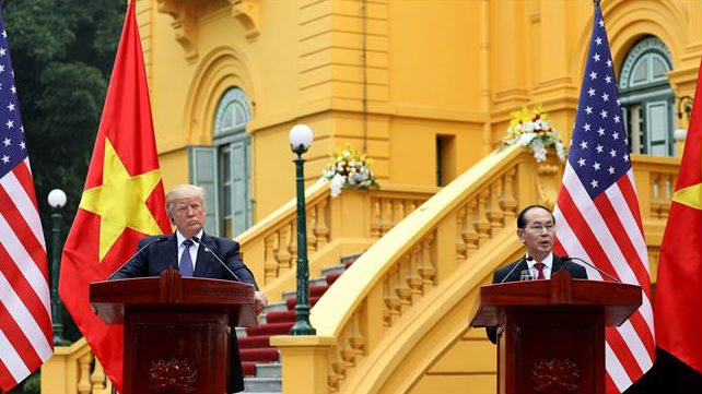 Joint statement reiterated over US$12 billion in new trade agreements to deepen Vietnam-U.S. relations