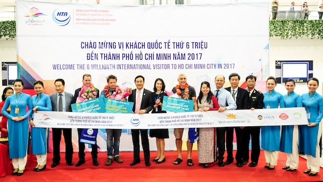 Ho Chi Minh City and Vietnam Airlines promote tourism