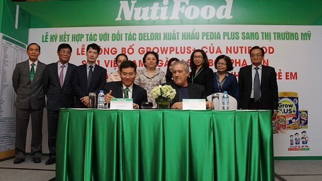 Nutifood exports Pedia Plus milk product to America to gain expectedly US$100 million