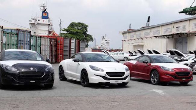 Thailand and Indonesia dominated imported cars last week