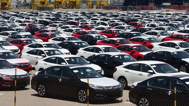 3,500 units of automobile imported to Vietnam last week