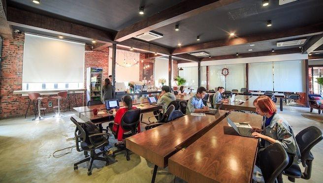 Co-working spaces blooming in Vietnam