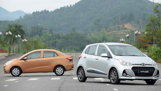 Sales of imported cars reduced sharply in six months