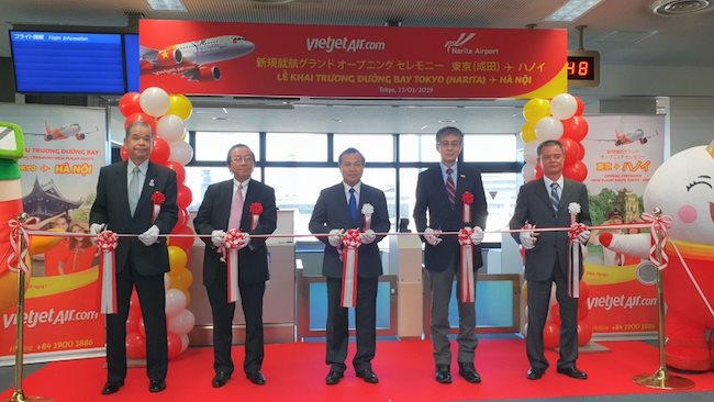 Vietjet Air launches third direct route connecting Hanoi and Japan