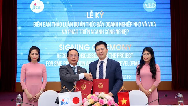 JICA to support Vietnam in SME promotion and industrial development
