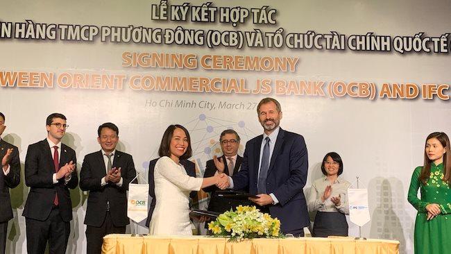 IFC providing $100 million loan to Vietnam's Orient Commercial Bank