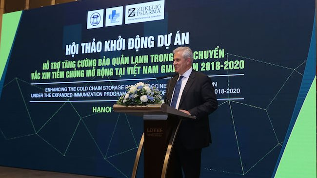 Zuellig Pharma funds expanding vaccine access in Vietnam