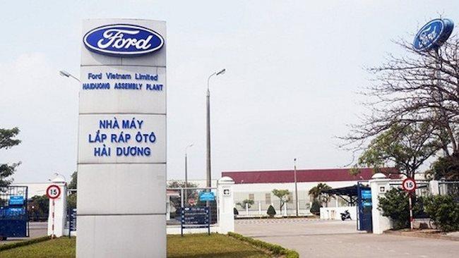 Ford shuts down plant in Vietnam due to coronavirus