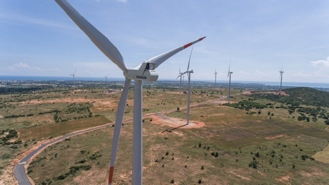 The Danish company Vestas ASP to build wind farm in Quang Binh province