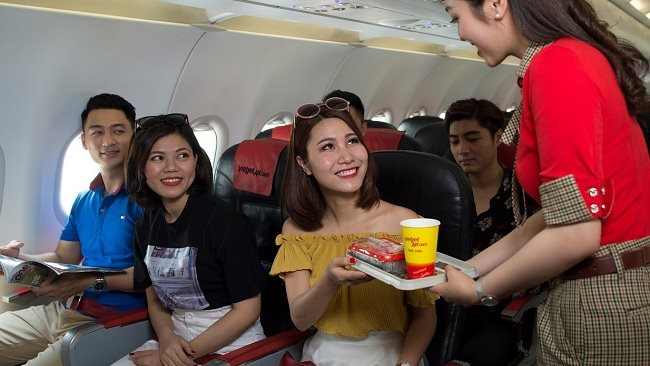 Vietjet plans to expand international flights amidst slower growth from domestic routes