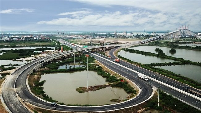 $585 million capitalized Ha Long - Hai Phong expressway is officially open to traffic