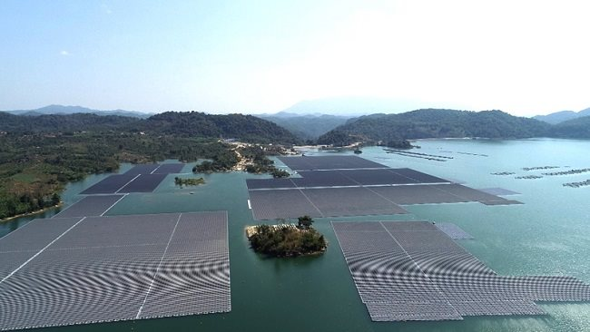 ADB provide $37-million loan for first large-scale floating solar farm