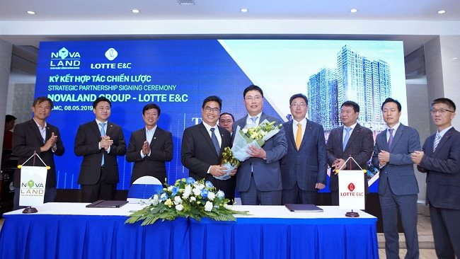 Novaland contracts Lotte E&C to build luxury condo complexes