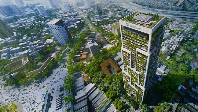 Mitsubishi Estate Asia vies for Eximbank Tower project