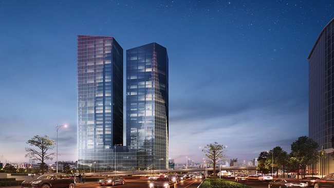 Hanoi's biggest office complex open for lease